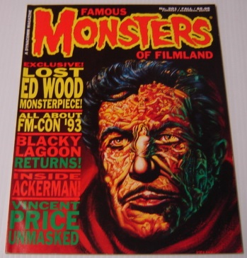 Image for Famous Monsters Of Filmland #201, Fall 1993: Vincent Price Unmasked