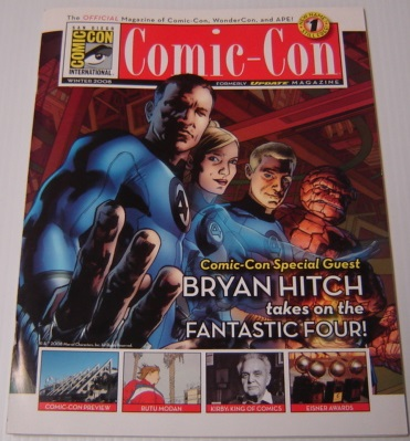Image for Comic-Con #1, Winter 2008, Formerly Update Magazine, the Official Magazine of Comic-Con, Wondercon, and Ape!