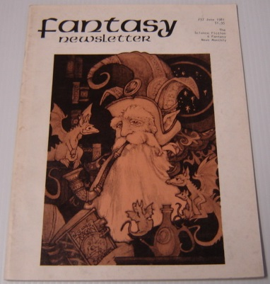 Image for Fantasy Newsletter Volume 4 No. 6, Whole #37, June 1981