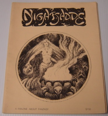 Image for Nightshade 3, Oct. 31, 1976, A Fanzine About Fantasy