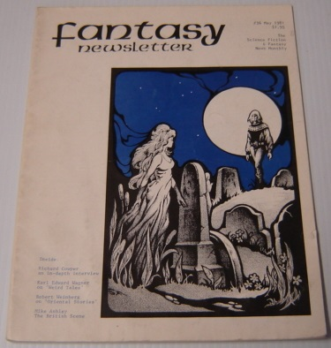 Image for Fantasy Newsletter Volume 4 No. 5, Whole #36, May 1981