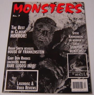 Image for Monsters from the Vault No. 7, 1999