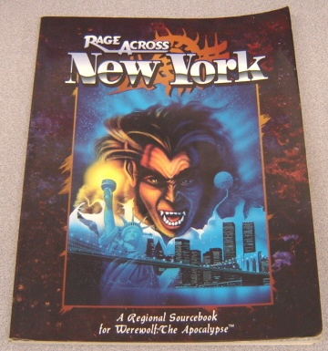 Image for Rage Across New York, A Regional Sourcebook For Werewolf: The Apocalypse (WW3100)