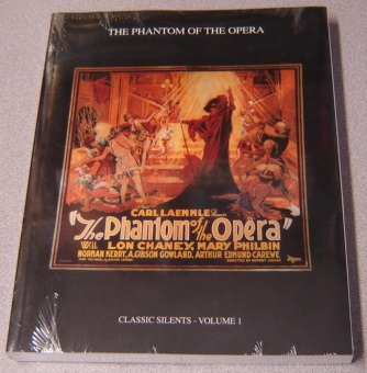 Image for The Phantom of the Opera (Hollywood Archives Series, Classic Silents, Volume 1)