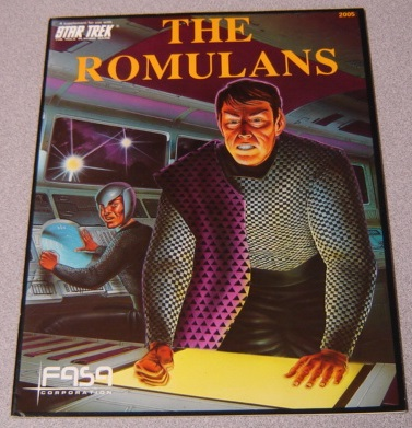 Image for The Romulans, A Supplement For Use With Star Trek, The Role Playing Game