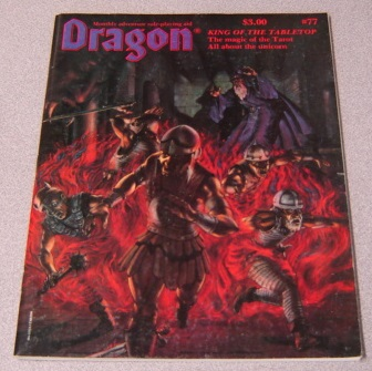 Image for Dragon Magazine, Monthly Adventure Role-playing Aid, Issue 77, Volume VIII, Number 3, September 1983