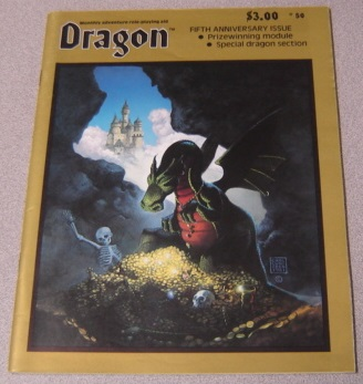 Image for Dragon Monthly Adventure Role-Playing Aid #50 June 1981 : Fifth Anniversary Issue