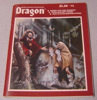 Image for Dragon #45: Monthly Adventure Role Playing Aid, Volume V Number 7, January 1981