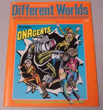Image for Different Worlds, Issue 34, May/June 1984: The Magazine for Adventure Role-players