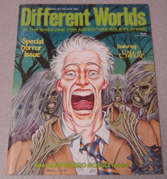Image for Different Worlds: The Magazine for Adventure Role-players, Issue 35, July/Aug. 1984