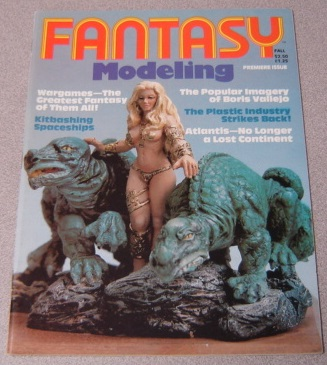 Image for Fantasy Modeling #1, Premiere Issue, Fall 1980