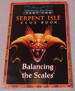 Image for Ultima VII Part Two: Serpent Isle Clue Book, Balancing the Scales