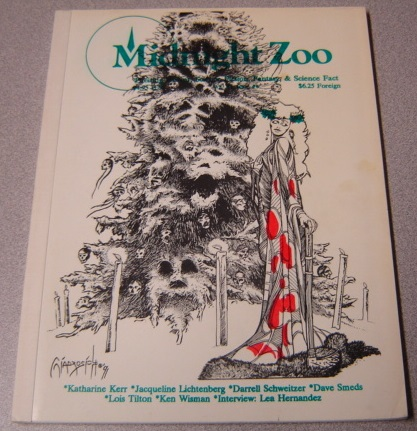 Image for Midnight Zoo, Volume 1 #6, Exciting Horror, Science Fiction, Fantasy, & Science Fact