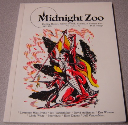 Image for Midnight Zoo, Volume 2 #2, Exciting Horror, Science Fiction, Fantasy, & Science Fact