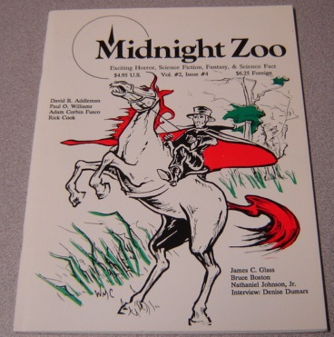 Image for Midnight Zoo, Volume 2 #4, Exciting Horror, Science Fiction, Fantasy, & Science Fact