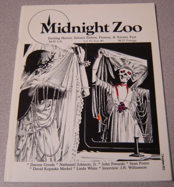 Image for Midnight Zoo, Volume 2 #5, Exciting Horror, Science Fiction, Fantasy, & Science Fact