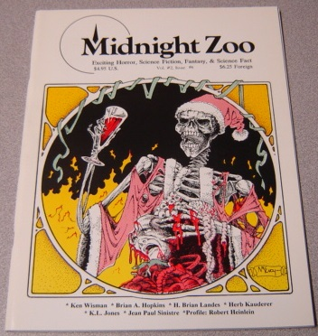Image for Midnight Zoo, Volume 2 #6, Exciting Horror, Science Fiction, Fantasy, & Science Fact