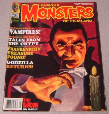 Image for Famous Monsters of Filmland #206, Jan/Feb 1995