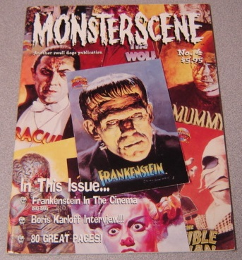 Image for Monsterscene Magazine #4, March 1995 (Frankenstein In The Movies)