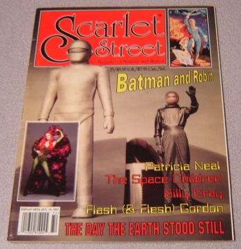 Image for Scarlet Street #25 / The Day the Earth Stood Still