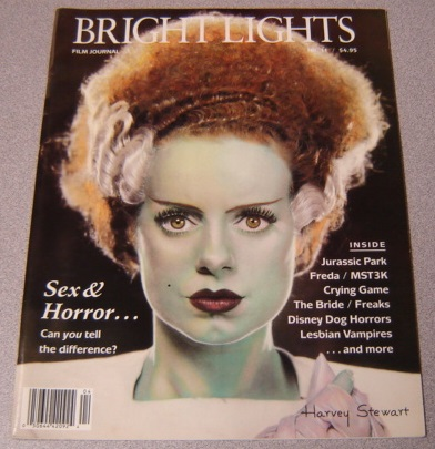 Image for Bright Lights Film Journal, No. 11, Fall 1993 [elsa Lanchester As The Bride Of Frankenstein, Pictured On Cover]
