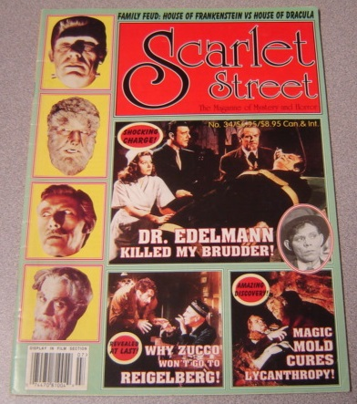 Image for Scarlet Street #34, The Magazine of Mystery and Horror