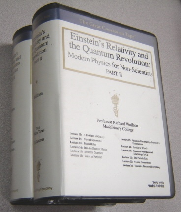 Image for Einstein's Relativity And The Quantum Revolution, Modern Physics For Non-Scientists, Parts 1 & 2, (4 VHS Video Tapes)