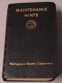 Image for Maintenance Hints - Westinghouse Electric Corporation