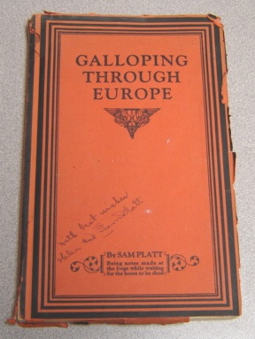 Image for Galloping Through Europe; Signed