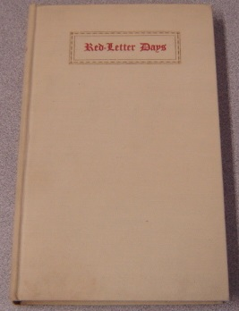 Image for Red-Letter Days