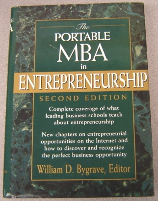 Image for The Portable MBA in Entrepreneurship, 2nd Edition