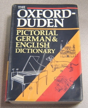 Image for The Oxford-Duden Pictorial German & English Dictionary