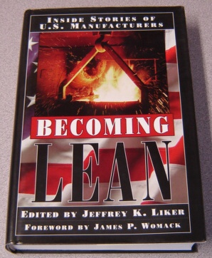 Image for Becoming Lean: Inside Stories Of U. S. Manufacturers