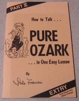 Image for How to Talk Pure Ozark in One Easy Lesson, Part II