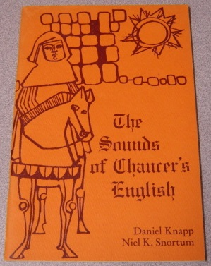 Image for The Sounds of Chaucer's English: A Study Pamphlet and Script to Accompany an Instructional Recording