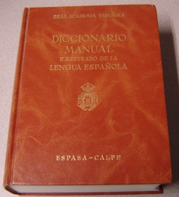 Image for Diccionario Manual E Ilustrado De La Lengua Espanola, Cuarta Edicion Revisada (Manual and Illustrated Dictionary of the Spanish Language, Fourth Edition Revised)