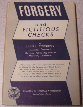Image for Forgery and Fictitious Checks