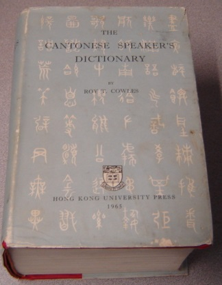 Image for The Cantonese Speaker's Dictionary